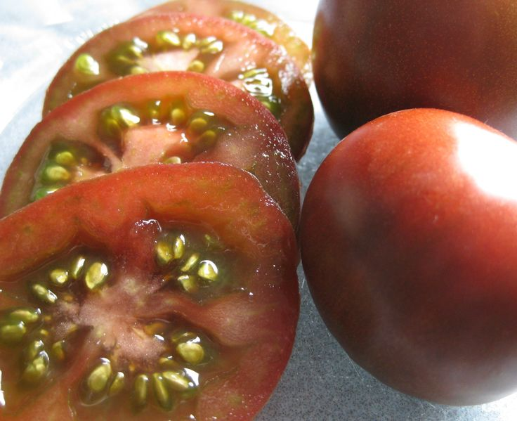 The end is near! (of the tomato harvest). Pulled out my last 2 plants today and now it really feels like Fall. My overall favourite of the season was black Krim..the pungent flavour is quite addictive and the plants were vigorous and productive. www.awhiterockgarden.com