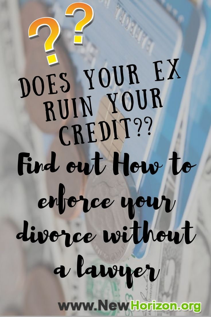 49 best divorce and credit score images on pinterest divorce how to enforce your divorce decree without a lawyer solutioingenieria Choice Image