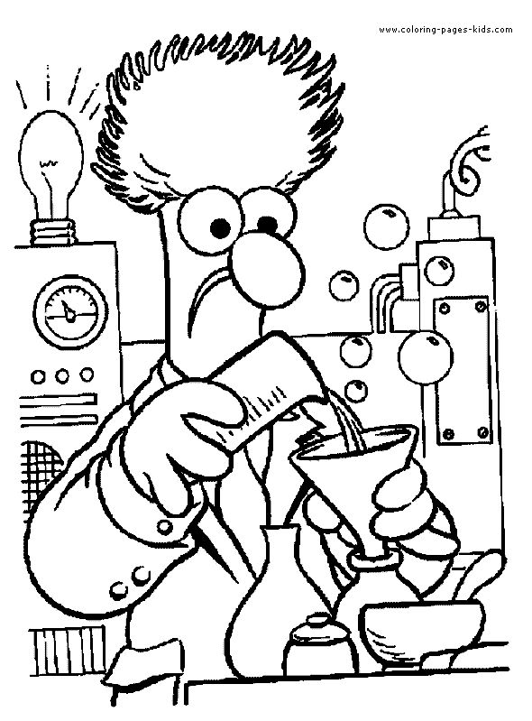 muppet movie coloring pages - photo#20