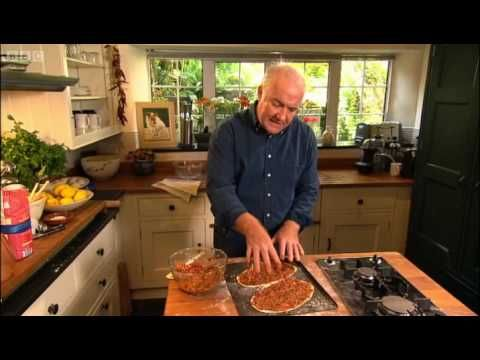 Rick Stein demonstrates the best way to make a traditional Turkish spicy lamb flatbread.