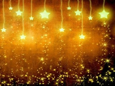 Light stars decoration PPT Backgrounds