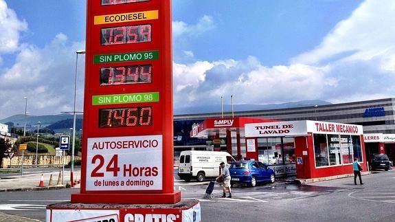 Las gasolineras más baratas de Bizkaia