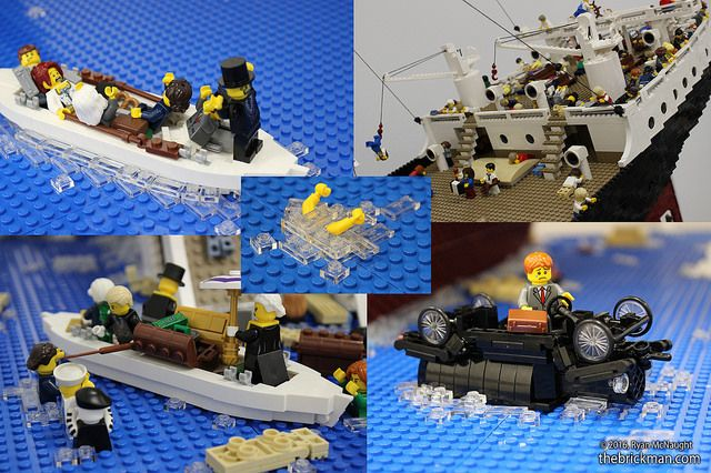 LEGO Titanic scenes | A few choice scenes from the exterior … | Flickr More