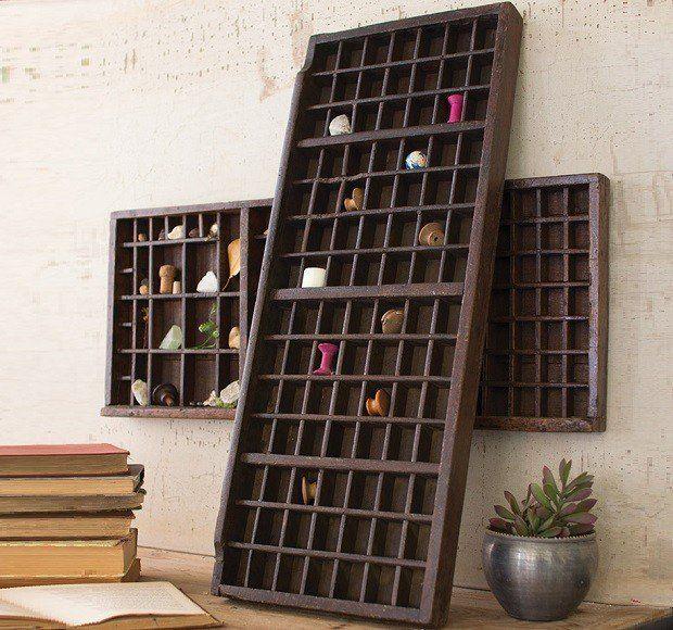 AFH FOUND: Vintage Printer's Tray