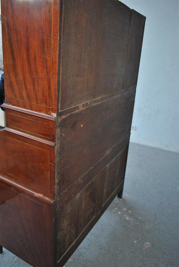 Bureau cylindre d 39 epoque louis xvi directoire poque fin for Bureau plus marseille