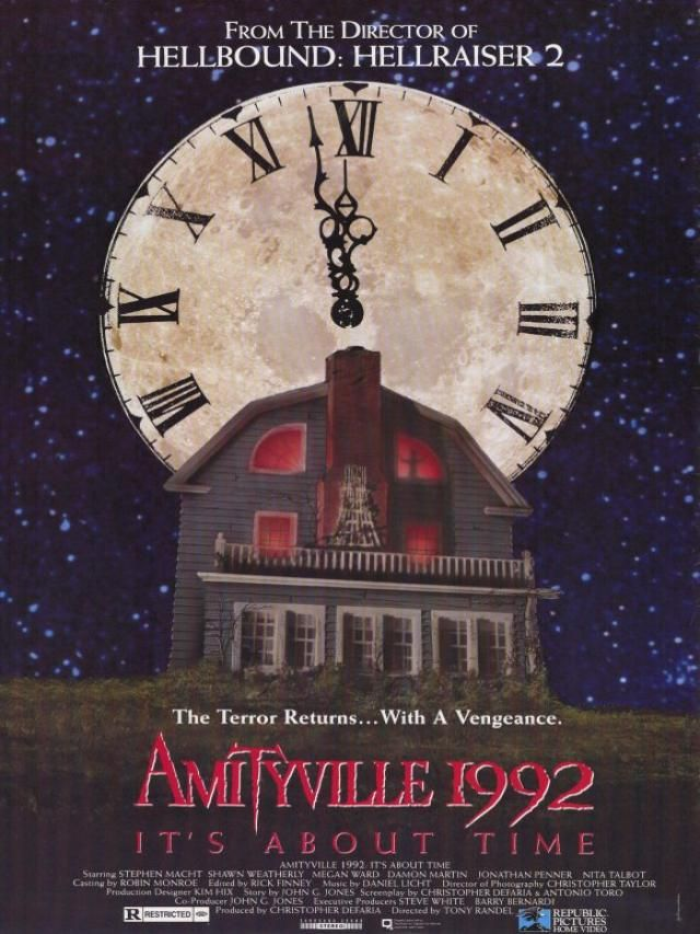 The Amityville Horror - It's About Time Cover Poster Art