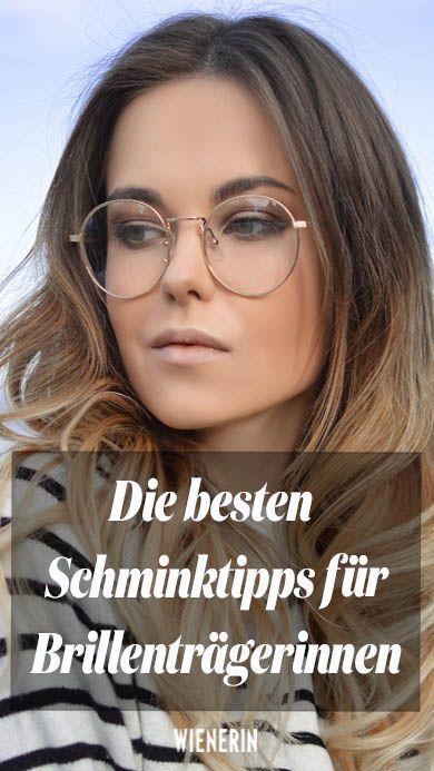 As melhores dicas de maquiagem para usuários de óculos   – MAKE-UP Tipps & Tricks