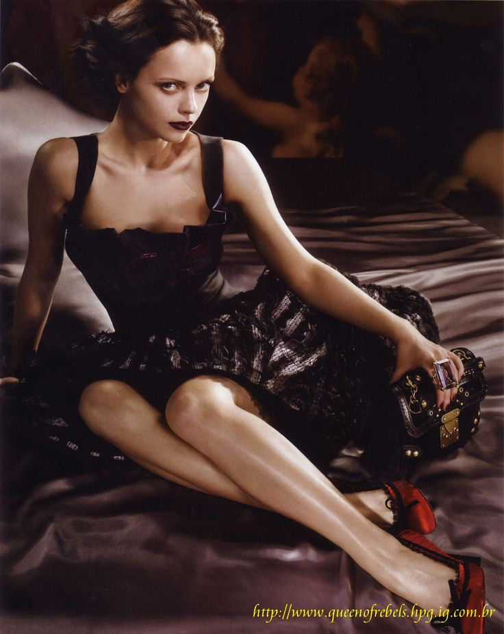 Christina Ricci for Louis Vuitton