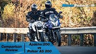 TVS Apache 200 vs Pulsar AS 200 - Comparison Review | MotorBeam  TVS Apache 200 vs Pulsar AS 200 - Comparison Review | MotorBeam  5:07  TVS Apache 200 vs Pulsar AS 200 - Comparison Review | MotorBeam  MotorBeam  1 month ago  123780 views  http://ift.tt/24VkSfTcompares the recently launched TVS Apache 200 against the Pulsar AS 200 to see which of these...  CC  via Blogger http://ift.tt/2aoXQpK July 26 2016 at 07:38PM Repeat