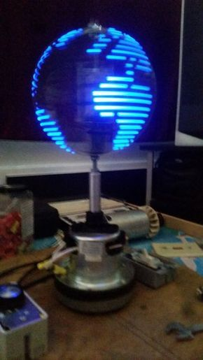 Picture of (POV) Persistence Of Vision Globe