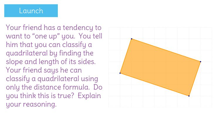 Use coordinate geometry to prove that a quadrilateral is a parallelogram.