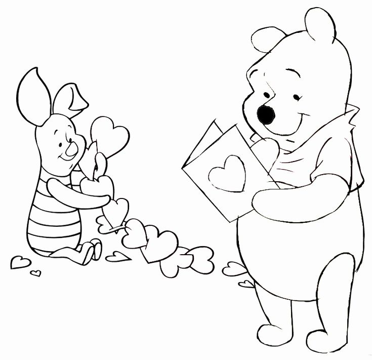 Valentine Coloring Pages for Kindergarten Unique Free ...