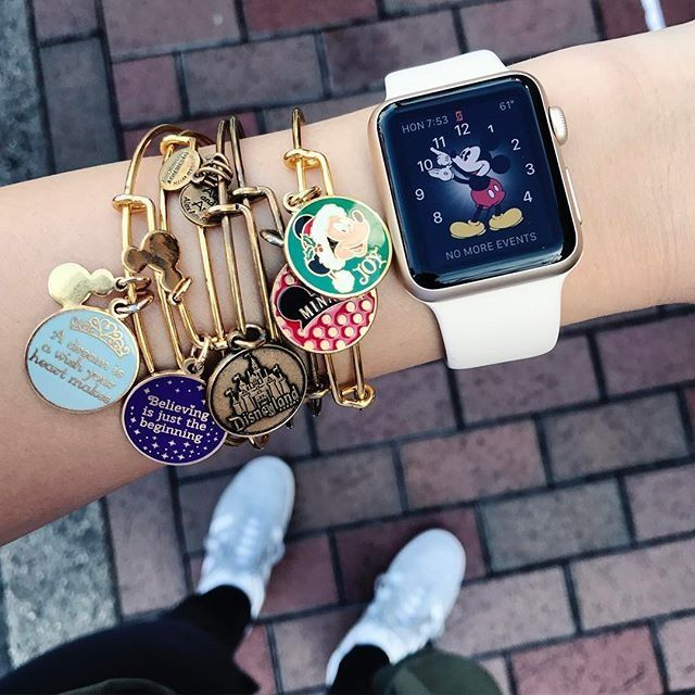 ALEX AND ANI Disney Charm Bangles | Available on disneystore.com and at the theme parks at Disney World and Disney Land