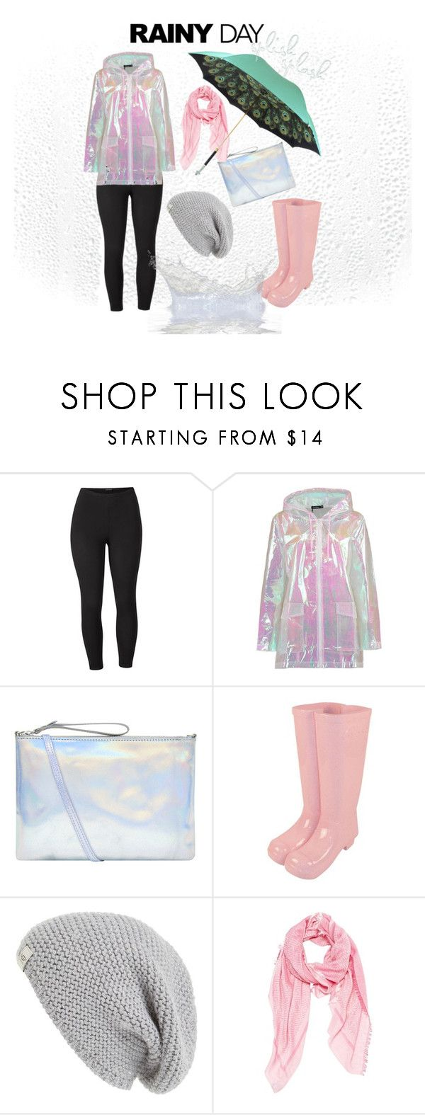 """""""Untitled #83"""" by mindlessmess ❤ liked on Polyvore featuring Venus, Boohoo, Accessorize, UGG Australia, Fendi, Pasotti Ombrelli and plus size clothing"""