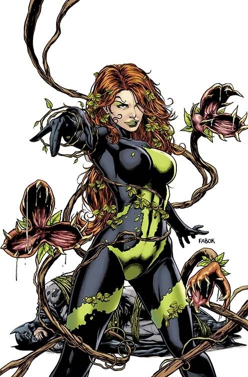 Poison Ivy on Detective Comics #23.1 | All 52 DC Villain Month Covers