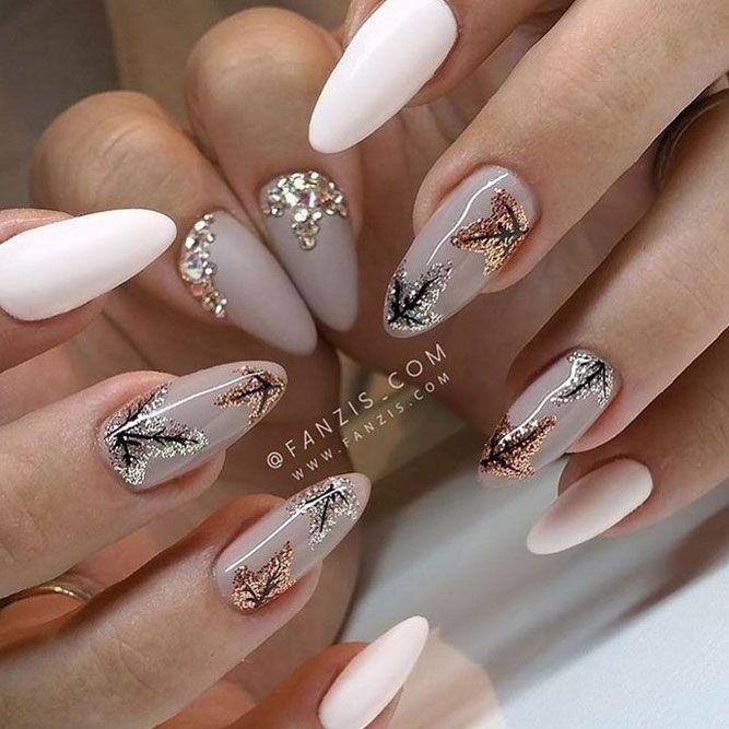 25+ best Fall nail trends ideas on Pinterest   Cute fall ...