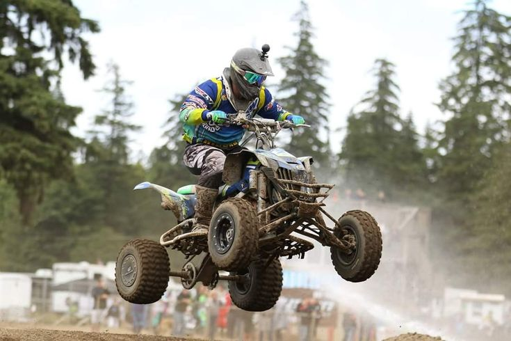 One of the few mx tracks us quads get to ride and race at here in the PNW. Love my Quadcross Northwest family! By joet82