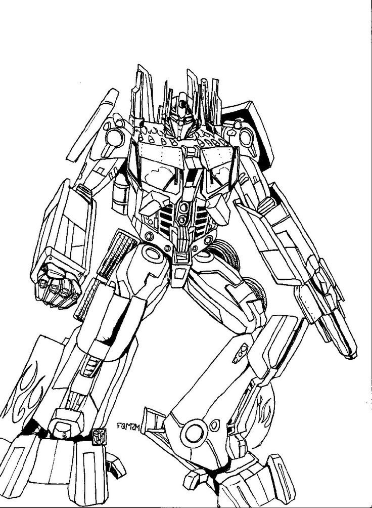 Bumblebee Transformer Coloring Page Educative Printable