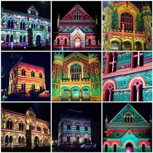 Northern lights in Adelaide, 2010 by blueberrrry, via Flickr.