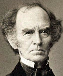 Edward Dickinson (1803 - 1874). Emily's father.  Politician, lawyer.  Education : Amherst Academy, Yale College, Northampton Law School. Treasurer of Amherst College, Massachusetts House of Representatives, and Massachusetts Senate.