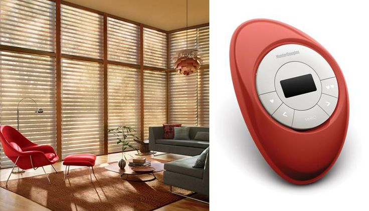 Design your life and your home with the style and convenience of Hunter Douglas PowerView™ Motorization and the PowerView Pebble™ Scene Controller.  Choose from a list of personalized settings to create the just the right ambiance exactly when you want it.  #MotorizedWindowTreatments #SilhouetteWindowShadings