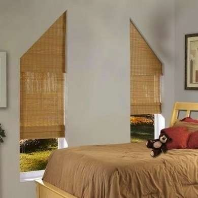 Angled Window Blinds
