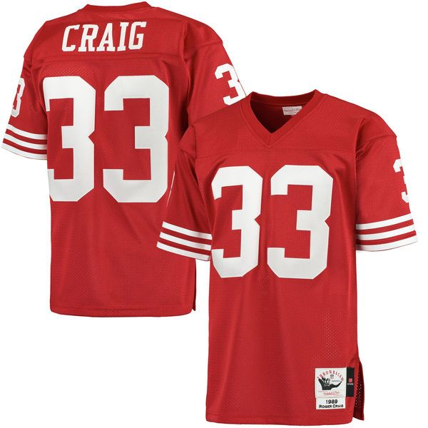 ccbe6a8ee authentic mens mitchell ness roger craig scarlet san francisco 49ers 1989  throwback authentic jersey 77bb9070ce7ec1495d3133d37b1875bf filephil