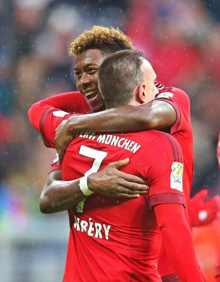 David Alaba & Franck Ribéry #BayernMunich #MiaSanMia