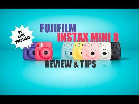 Fujifilm Instax Mini 8 CLEAR CASE REVIEW - YouTube