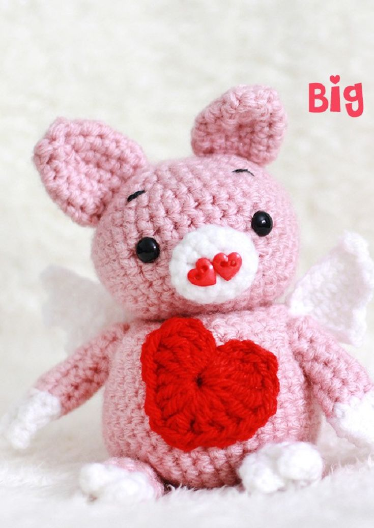 Amigurumi Big Heart : 1000+ images about Crocheted Toys/Amigurumi on Pinterest ...