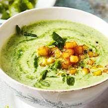 Kartoffel-Spinat-Suppe, vegan von Konni1963