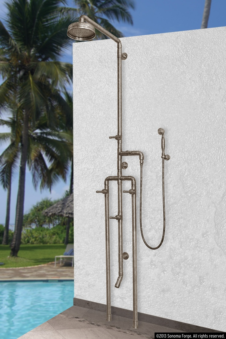 Outdoor Shower Parts : Best waterbridge exposed shower systems images on