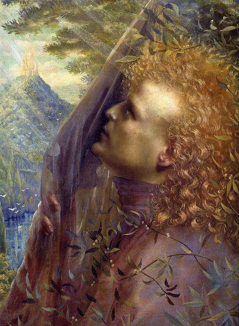"Jean Delville (Belgian, 1867-1953), ""Parsifal"""