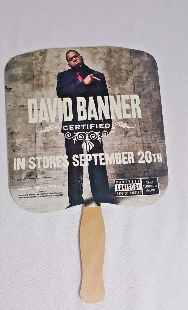 David Banner Music CD Advertising Church Fan 2005