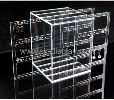 Earring acrylic display stand with multi-holes JD-024