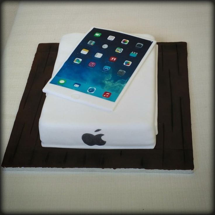 IPad - Cake by nef_cake_deco