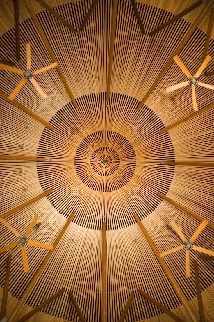 Amanyara Resort Turks and Caicos bar ceiling