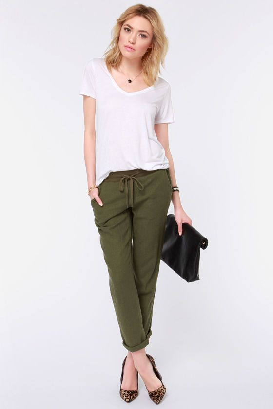 17 best ideas about Olive Green Pants on Pinterest | Army green ...