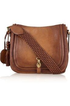 Gucci   Leather messenger bag   NET-A-PORTER.COM - StyleSays