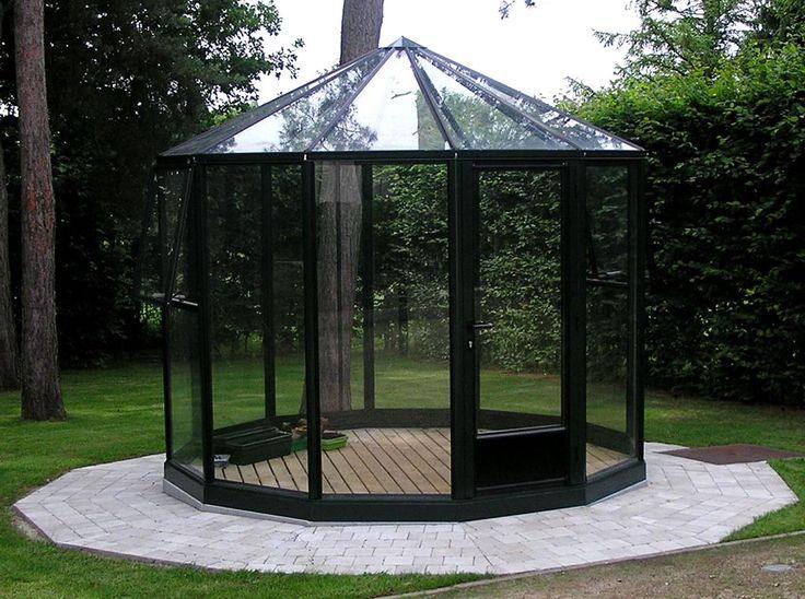 glaspavillon mit durchmesser 250 cm bis 900 cm glaspavillons rund pinterest