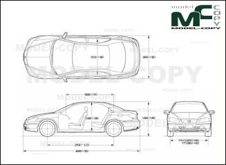 Acura RL - drawing