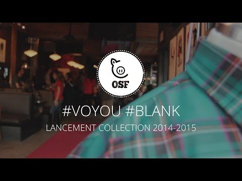 Nouvelle collection 2014-2015 Voyou - Blank #coffeegang #webtv