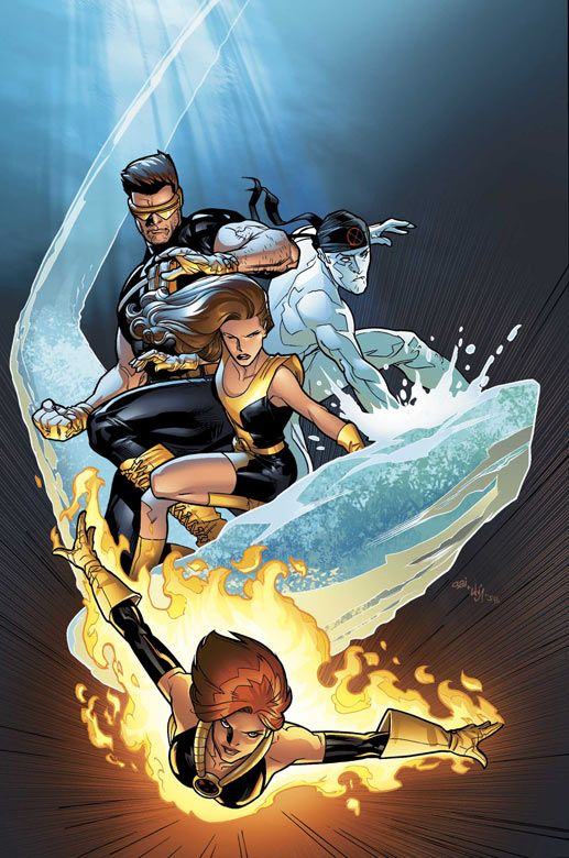 The X-Men (cover to Ultimate X-Men Vol. 1 #57)