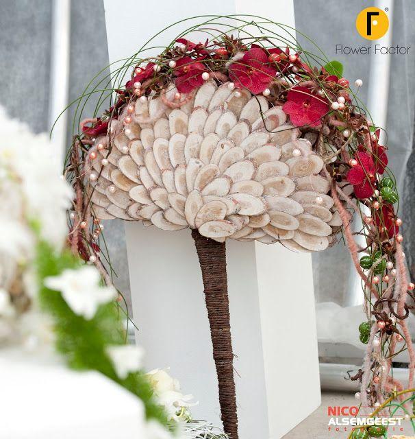 Flower adventure: Ślubna alternatywa -wachlarz