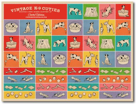 vintage K-9 Cuties: Free Digital Downloads