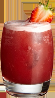 The Strawberry Woo Woo: Vodka, Strawberry and Peach. http://www.funkin.co.uk/cocktail-ingredients/strawberry-woo-woo
