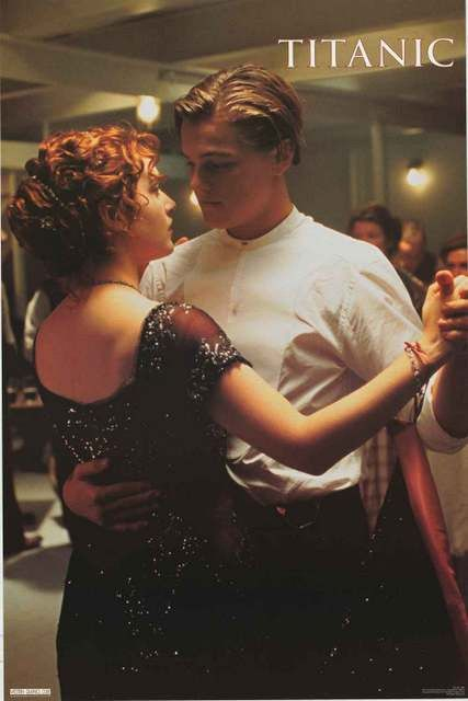 Leonardo Di Caprio and Kate Winslet share a final dance in this great poster…