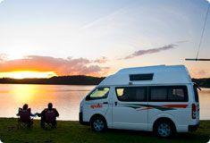 Motorhome rental campervan hire New Zealand - Apollo Motorhomes Campervan Hire Vehicles