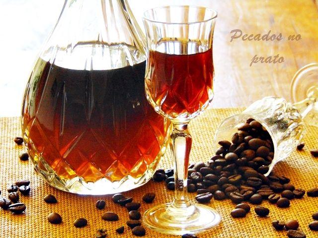 Receitas de pecados no prato: Licor de café
