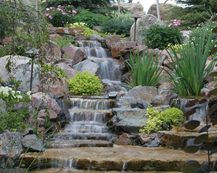 31 best water features images on pinterest dry creek - Garden water feature ideas ...